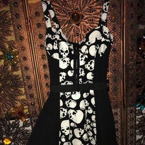 ‼️SOLD‼️Super Cute Skull Dress